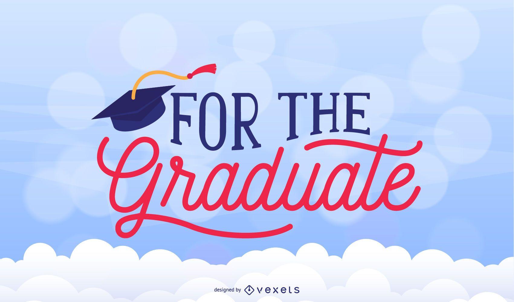 Graduation congrats design