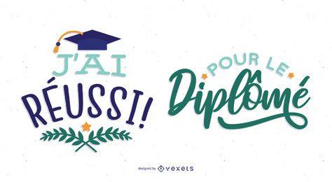 diseño de graduación francés