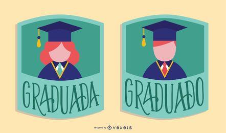 Design de pós-graduação em espanhol