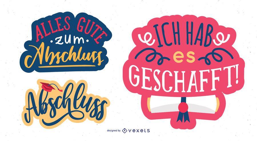 German congratulatory message