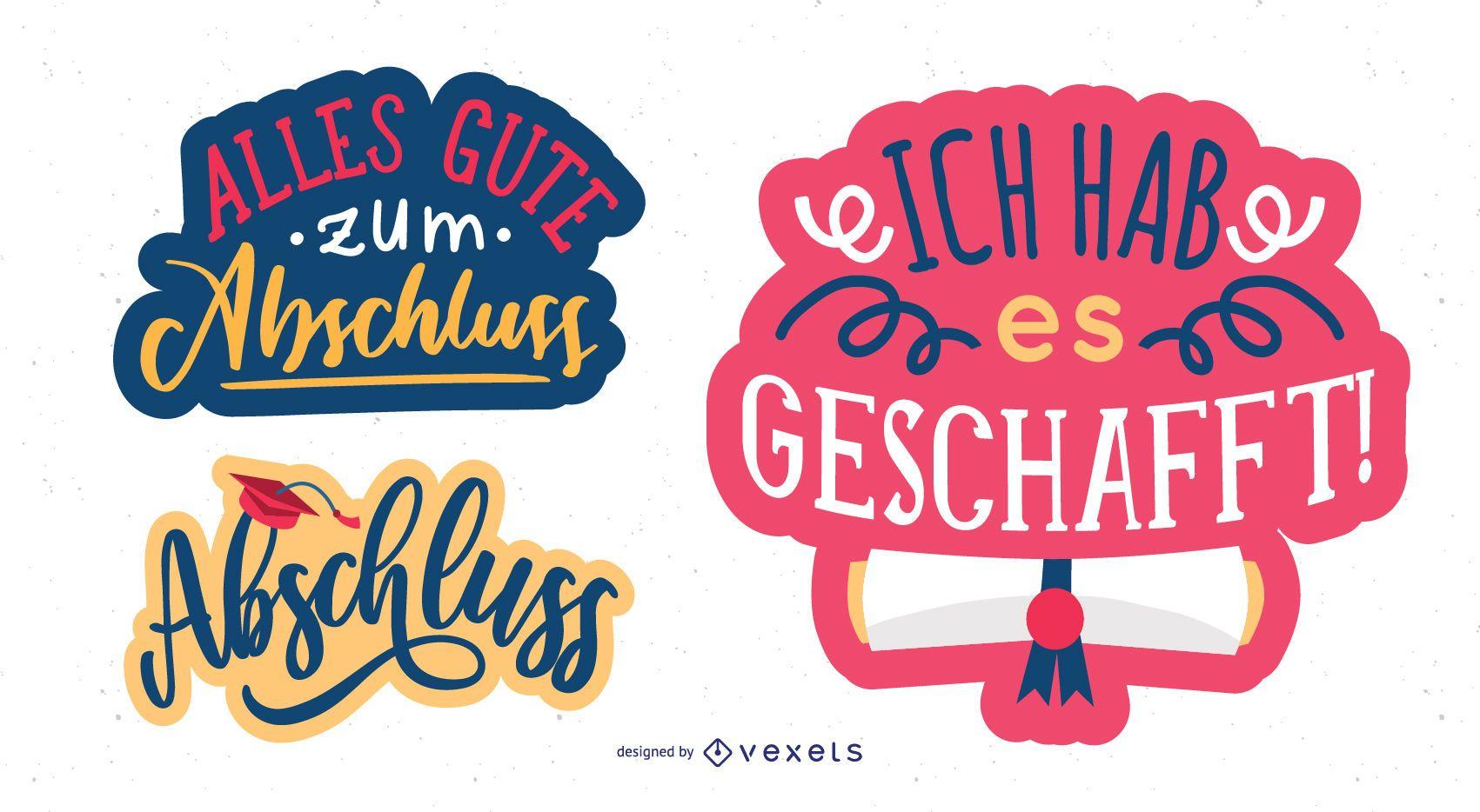 Mensaje de felicitación en alemán