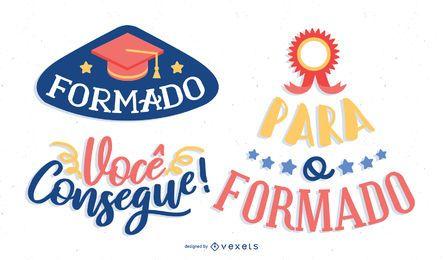 Portuguese Graduate message