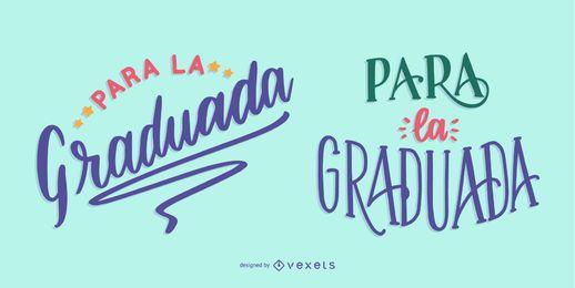 mensagem de formatura espanhola