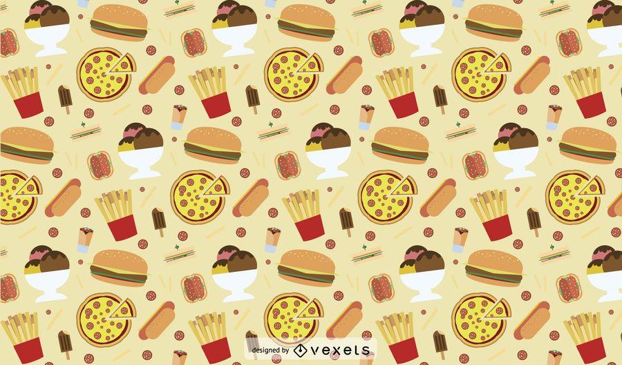 Junk food Pattern