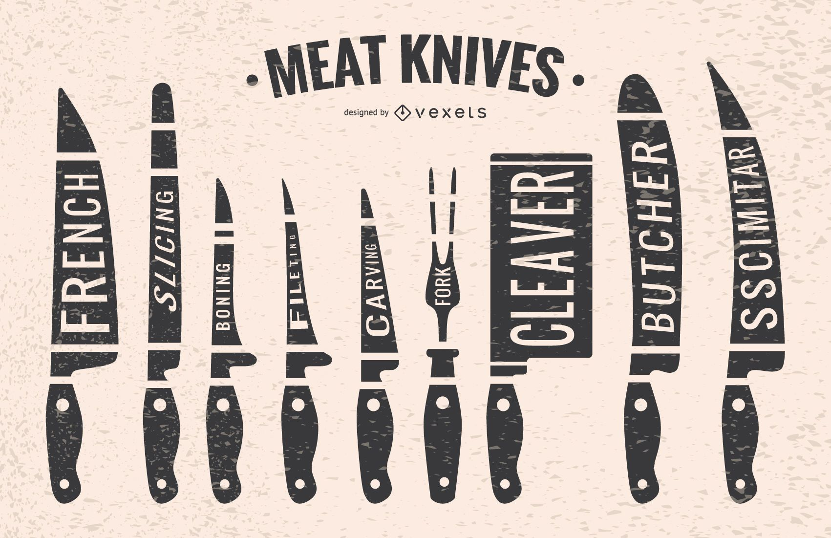 Meat knives