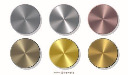 Embalagem de moedas metálicas
