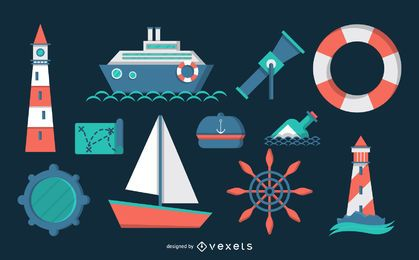 Nautical theme pack