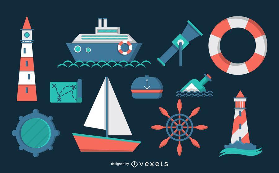 Nautical theme pack