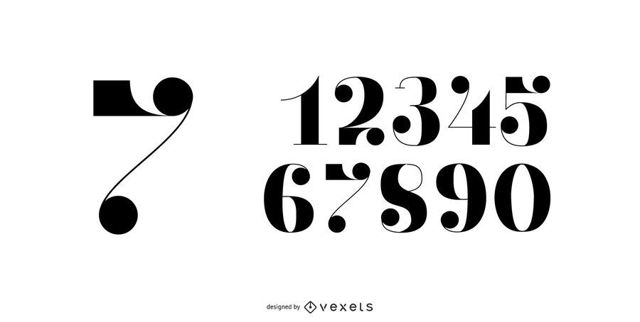 1920's Numbers