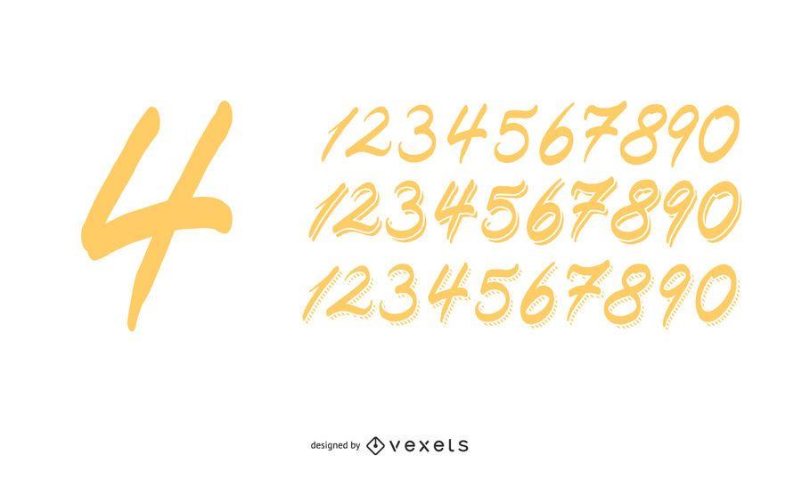 Números Artesanais