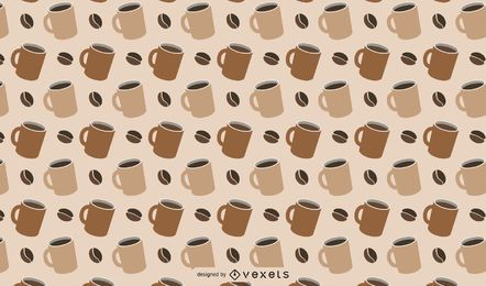 Coffee Themed Pattern