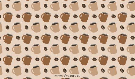 Kaffee unter dem Motto Muster