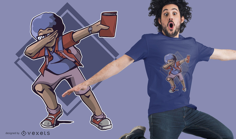 Diseño de camiseta de estudiante