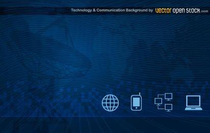 Fondo de tecnología y comunicación