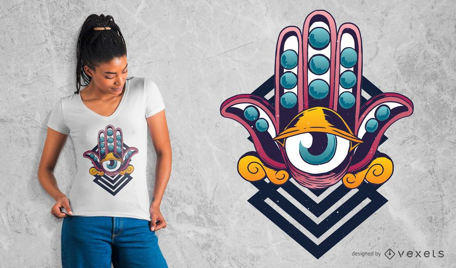 Third Eye T-Shirt Design