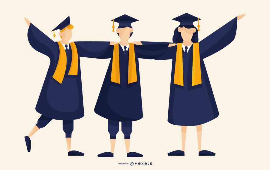 Graduates Illustration