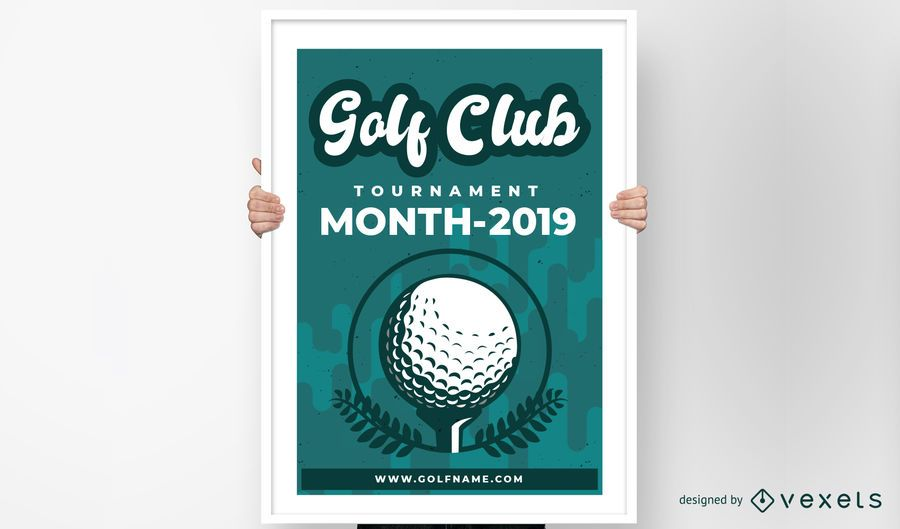 Golf Club Poster Design