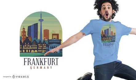 Frankfurt T-Shirt Design