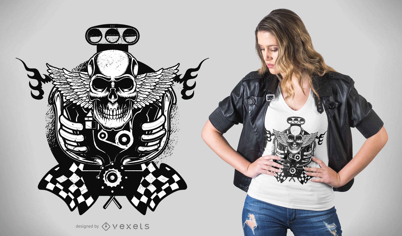 Motor Vehicle T-Shirt Design