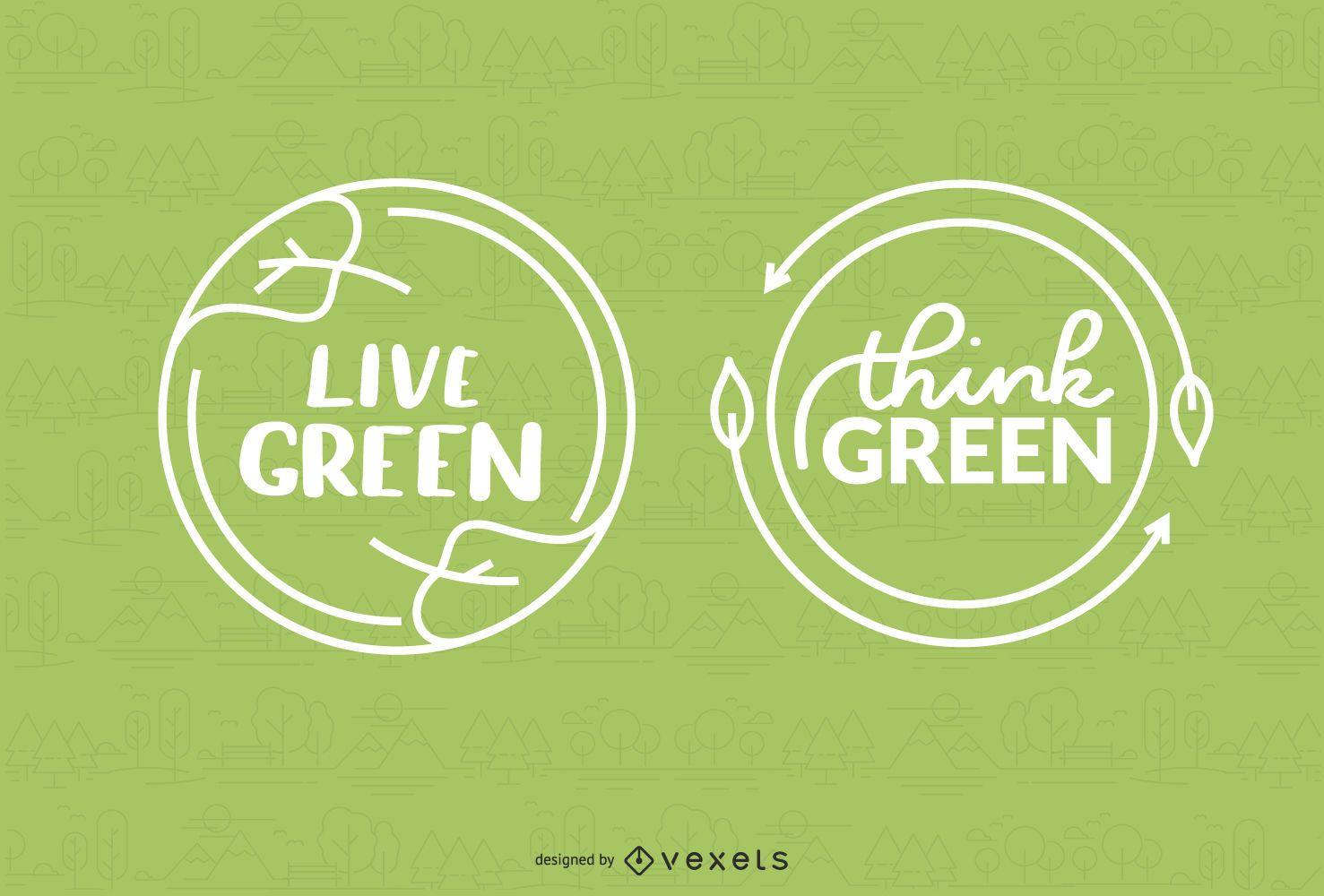 Environment Badges Design
