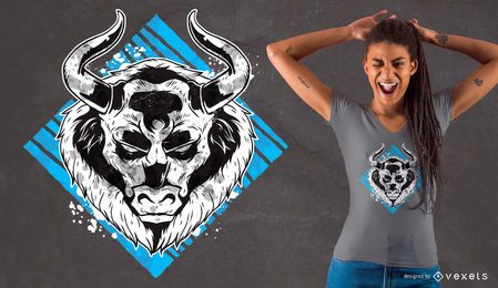 Angry Bull T-Shirt Design