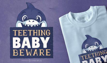 Baby Beißer T-Shirt Design