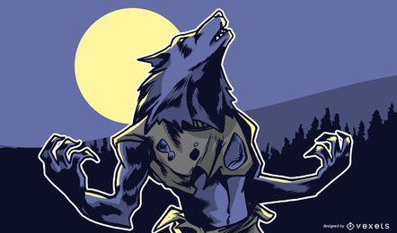 Werwolf Illustration