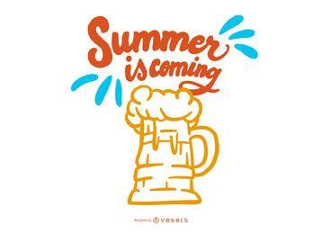 O verão está chegando