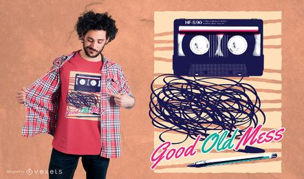 Diseño de camiseta Good Old Mess