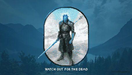 Cuidado con la ilustración de los muertos