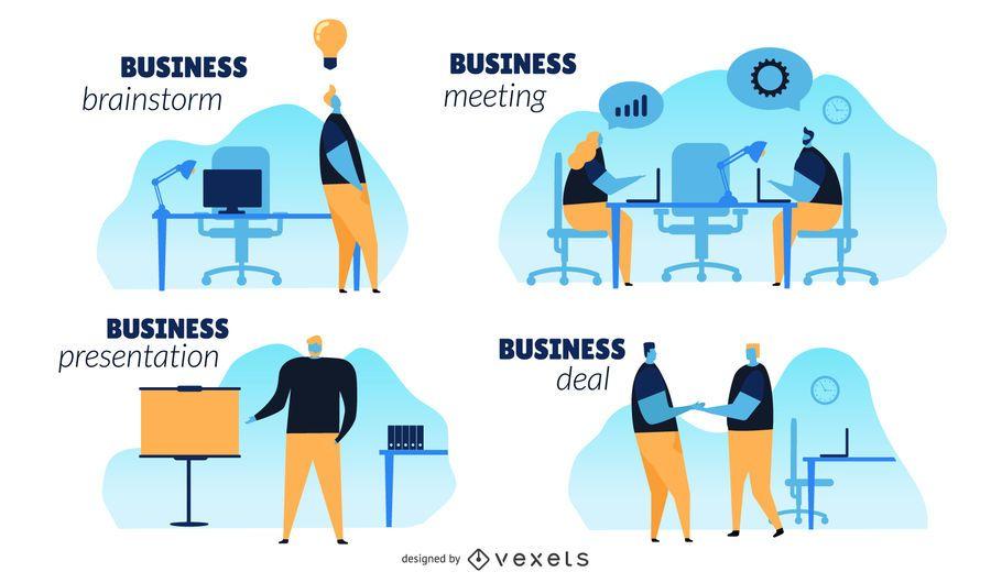 Business Konzept Illustration