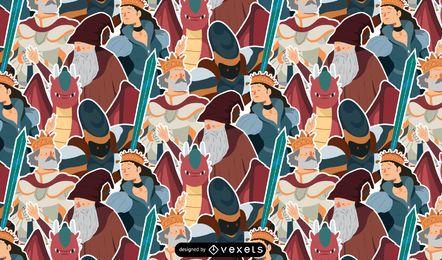 Mittelalter-Muster