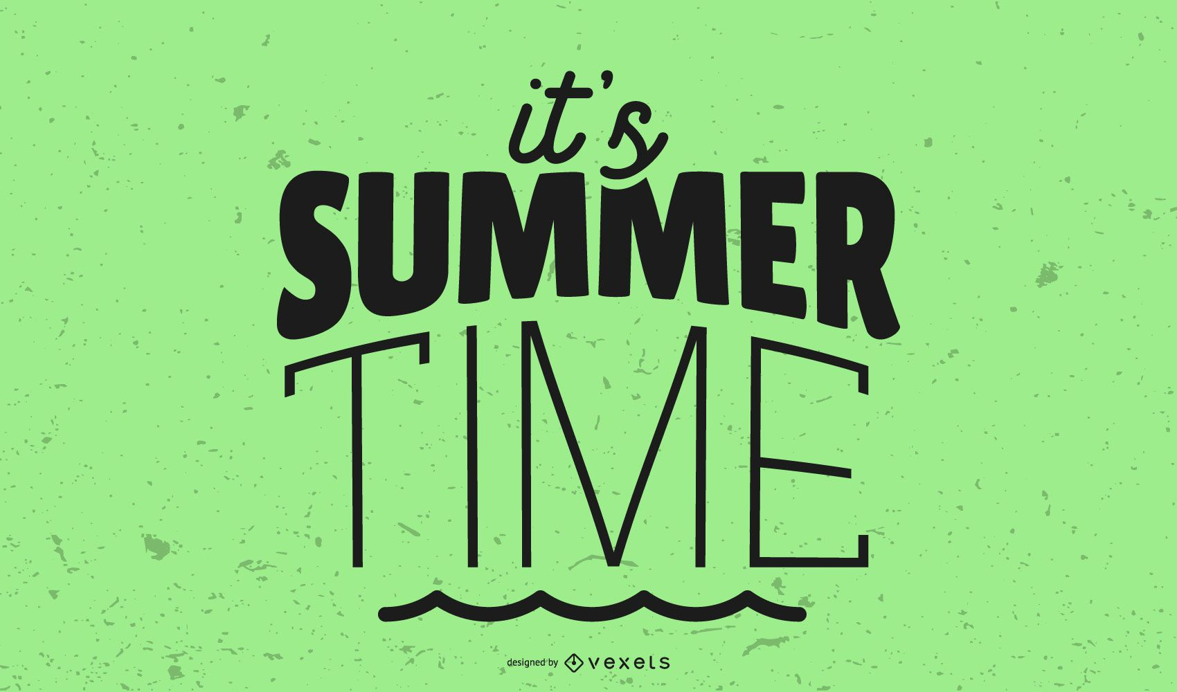 It's Summer Time Graphic Title
