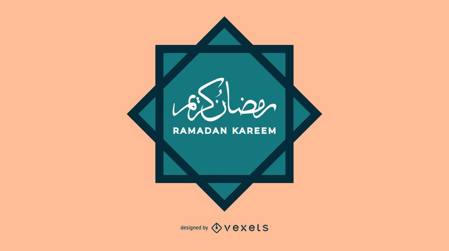 Arabischer Ramadan Kareem-Entwurf