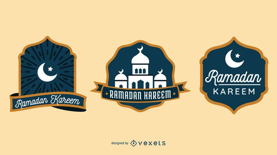 Colección de insignias de Ramadán