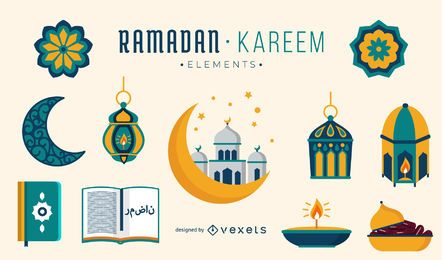 Ramadan Kareem Elements-Sammlung