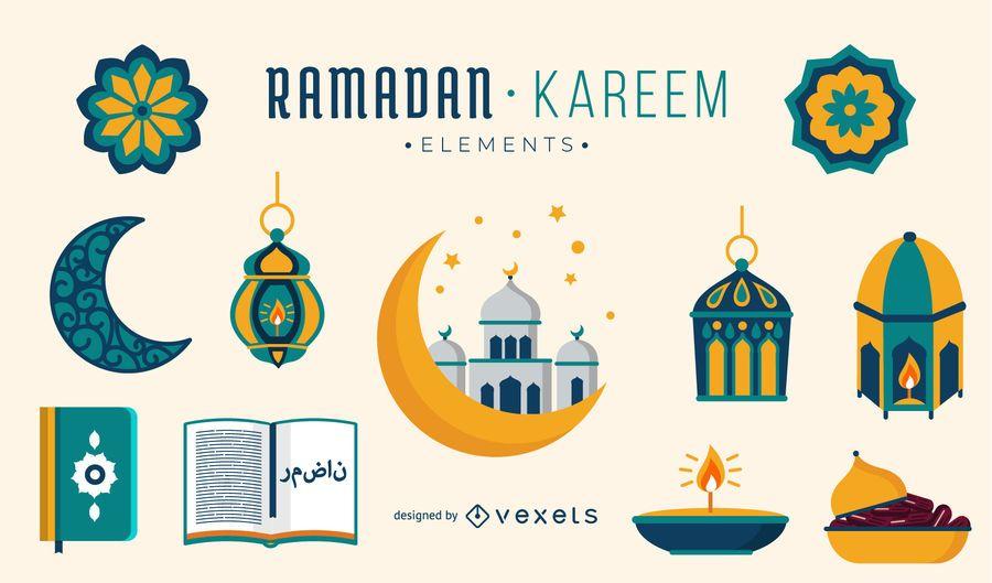 Ramadan Kareem Elements-Sammlung