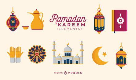 Conjunto de vector de Ramadán