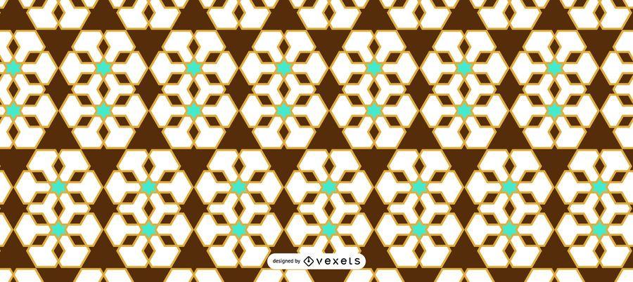 Nahtloses Ramadan-Blumenmuster