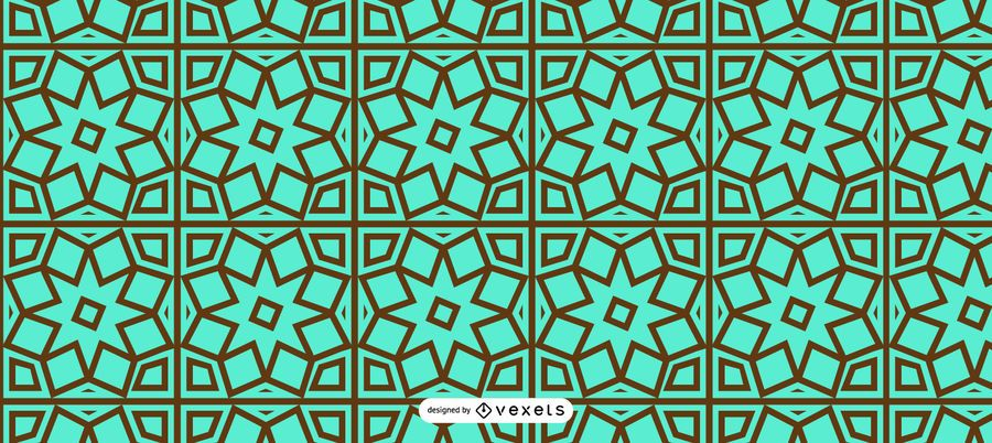 Nahtlose Blumenmuster Ramadan Design