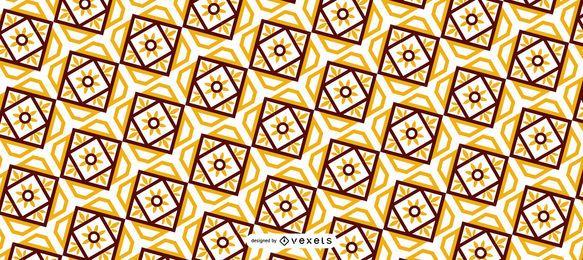 Diseño de patrones geométricos de Ramadán