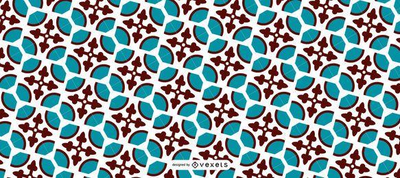 Diseño de patrón de Ramadán sin costuras