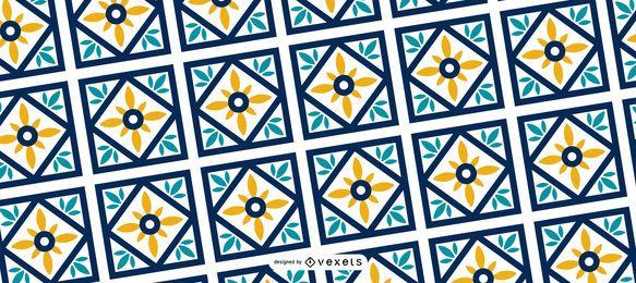 Patrón geométrico de Ramadan Kareem