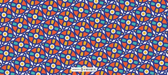 Diseño de patrón de Ramadán islámico