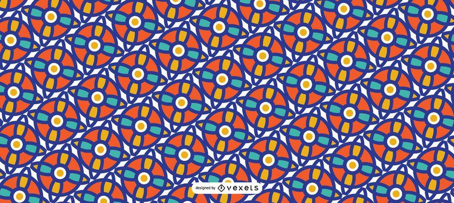 Design Islâmico Ramadan Pattern