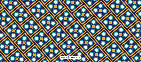 Geometrisches Ramadan Kareem Muster