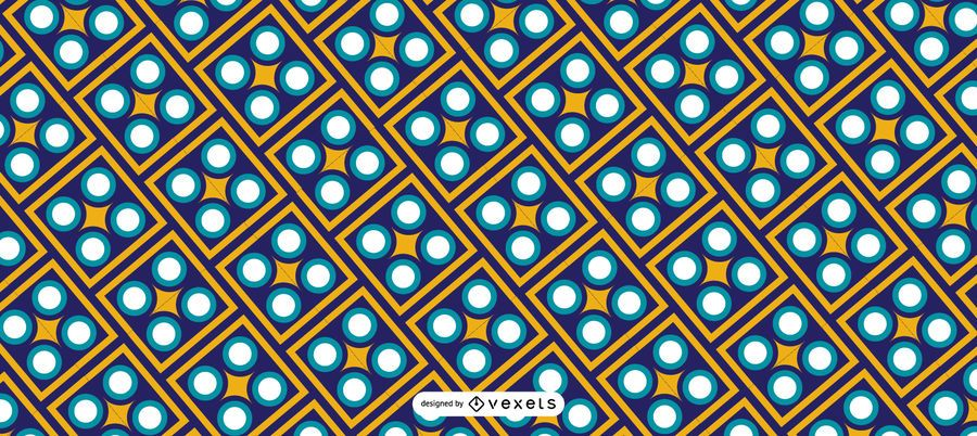 Geometric Ramadan Kareem Pattern