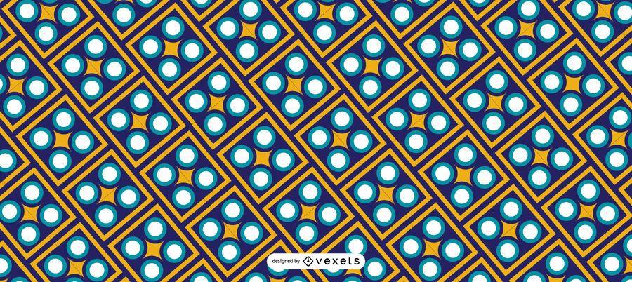 Patrón geométrico de Ramadán Kareem