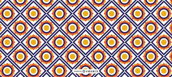 Geometrisches islamisches Ramadan-Muster