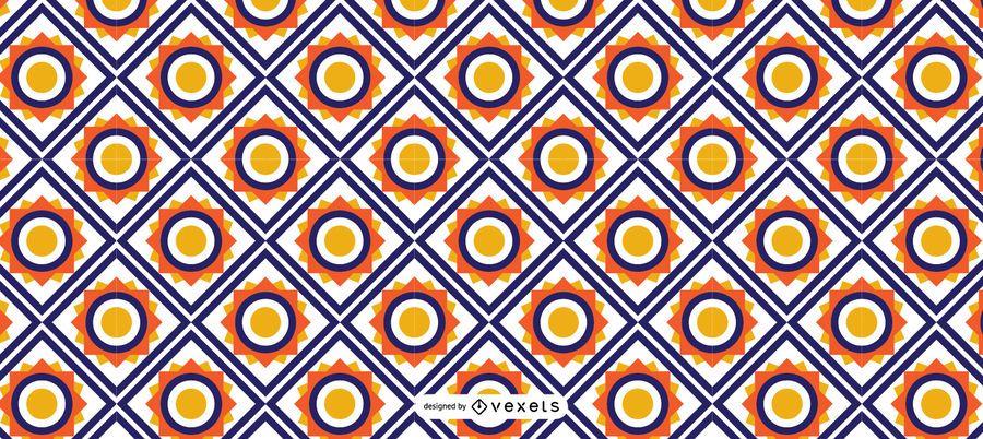 Geometric Islamic Ramadan Pattern